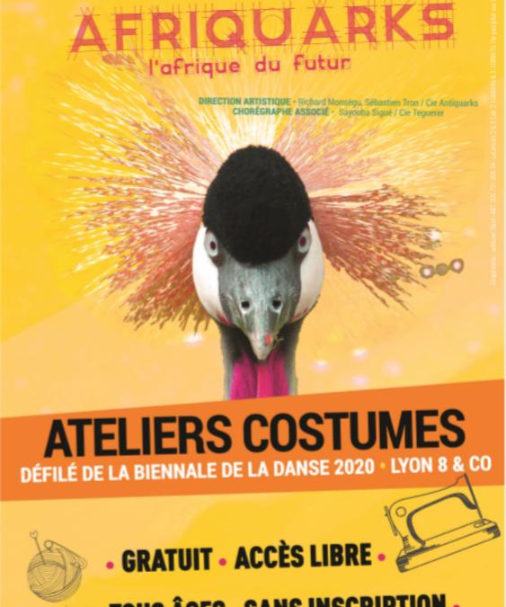 Reporté – Démarrage des ateliers couture Biennale ouvert à tou·te·s
